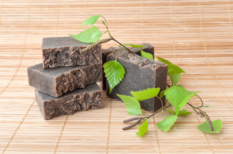 eco friendly gift pine tar for soap